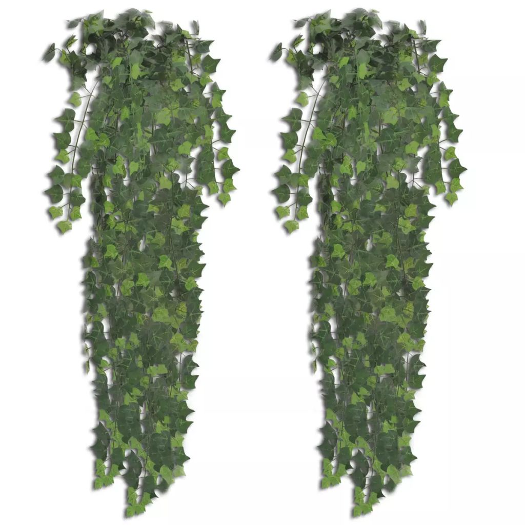 Artificial Ivy Bush 2 pcs 90 cm Green 1