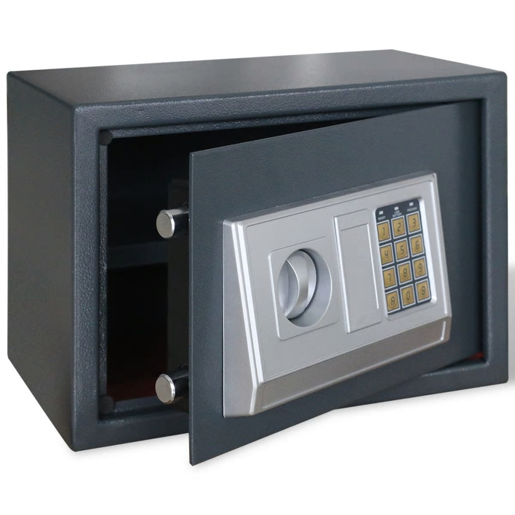 Electronic Digital Safe with Shelf 35 x 25 x 25 cm 1
