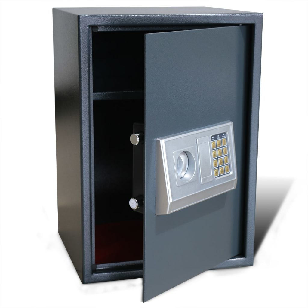 Electronic Digital Safe with Shelf 35 x 31 x 50 cm 1