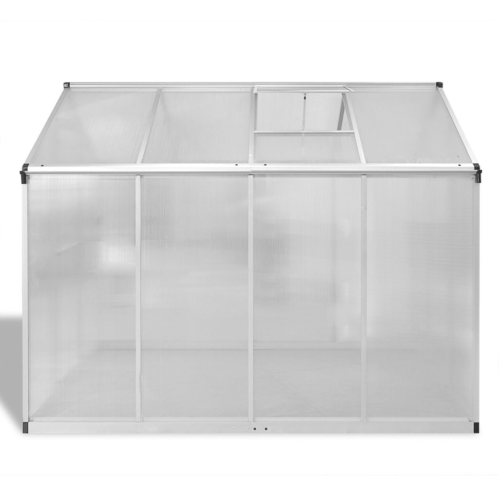 Reinforced Aluminium Greenhouse with Base Frame 4