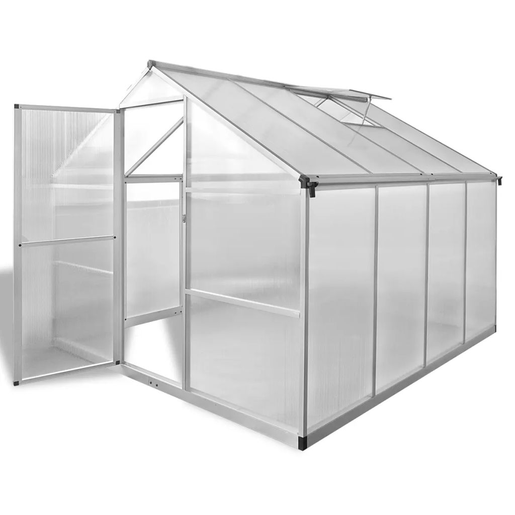 Reinforced Aluminium Greenhouse with Base Frame 6