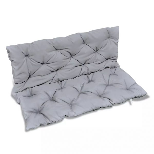 Grey Cushion for Swing Chair 120 cm 3