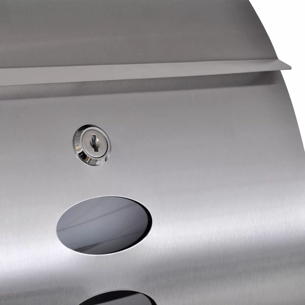 Mailbox Stainless Steel 6