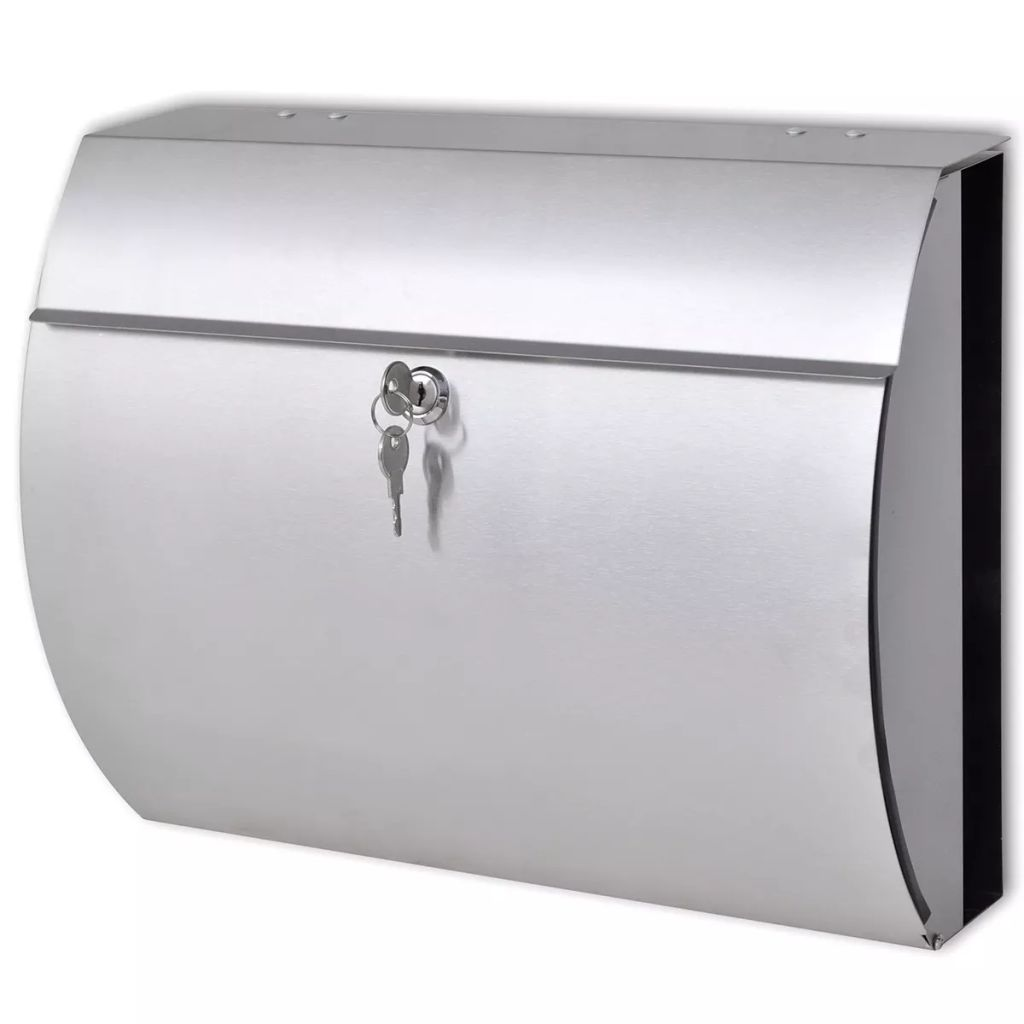 Stainless Steel Mailbox 1