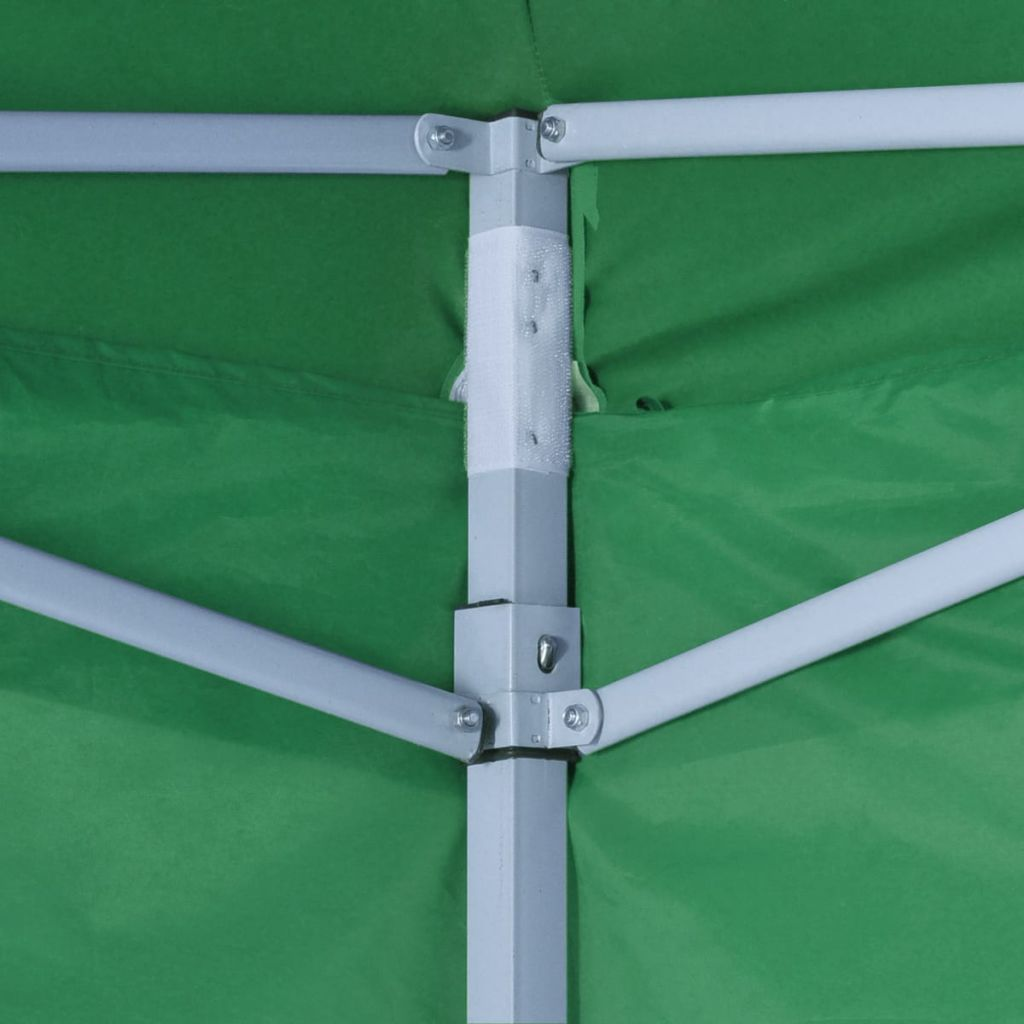 Foldable Tent 3×3 m with 4 Walls Green 4