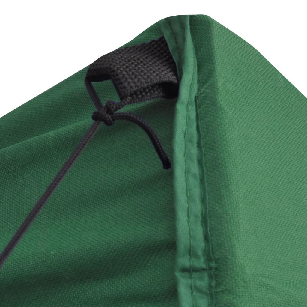 Foldable Tent 3×3 m with 4 Walls Green 5