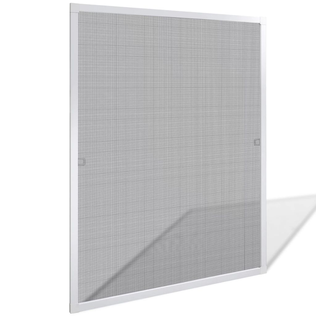 White Insect Screen for Windows 80 x 100 cm 1