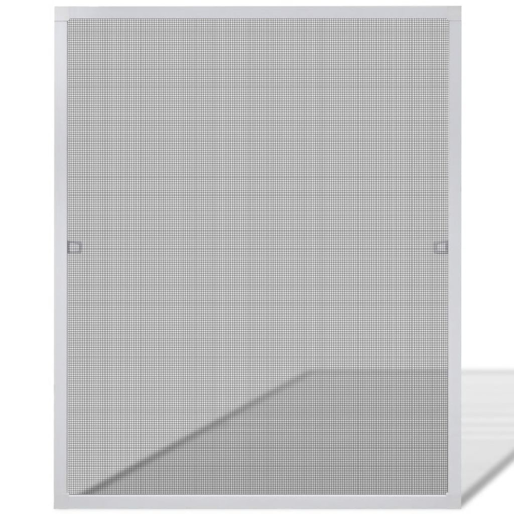 White Insect Screen for Windows 80 x 100 cm 2