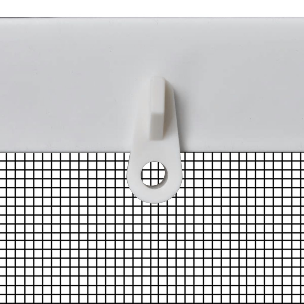 White Insect Screen for Windows 80 x 100 cm 4