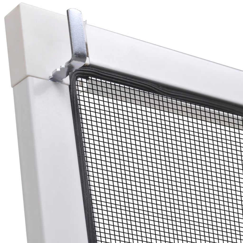 White Insect Screen for Windows 80 x 100 cm 5
