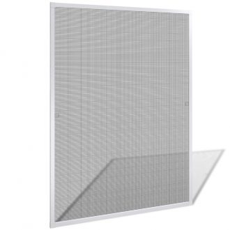 White Insect Screen for Windows 100 x 120 cm 1
