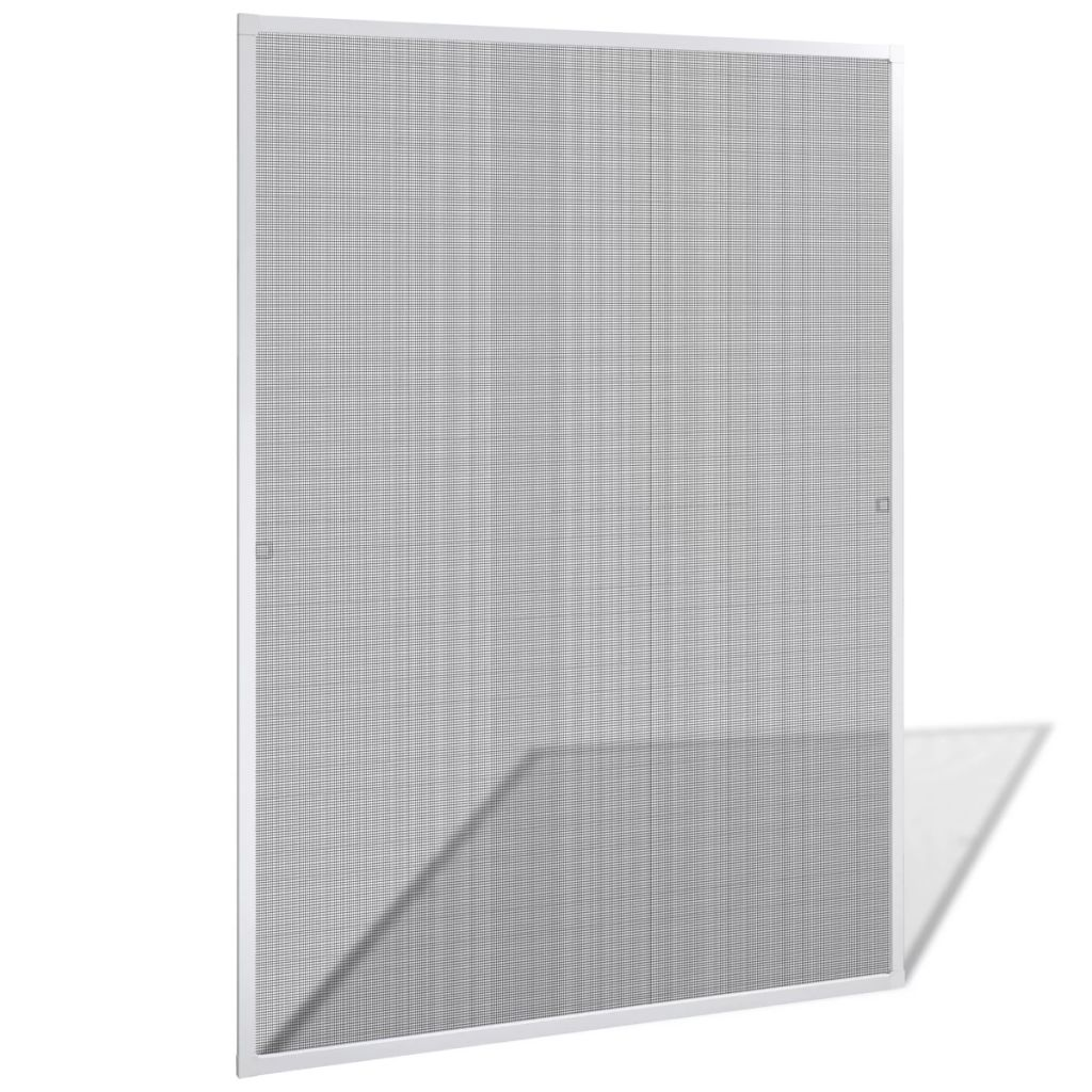 White Insect Screen for Windows 120 x 140 cm 1