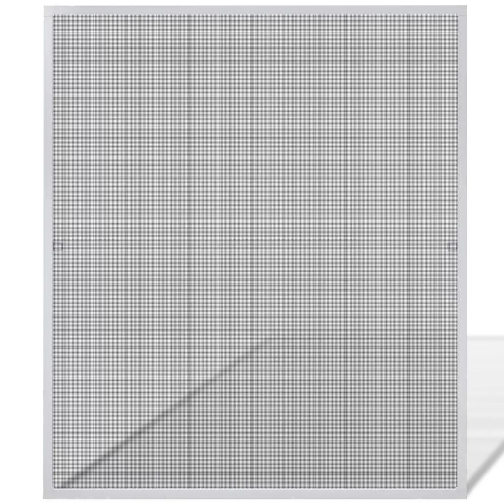 White Insect Screen for Windows 120 x 140 cm 2