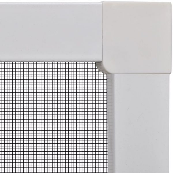 White Insect Screen for Windows 120 x 140 cm 3