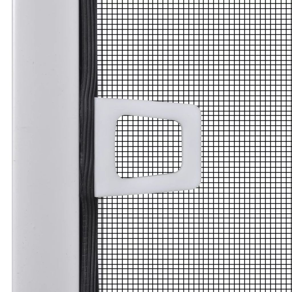 White Insect Screen for Windows 120 x 140 cm 4