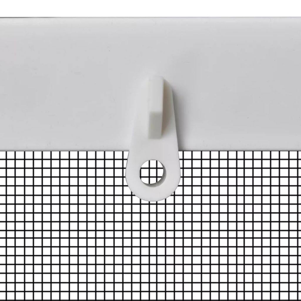 White Insect Screen for Windows 120 x 140 cm 5