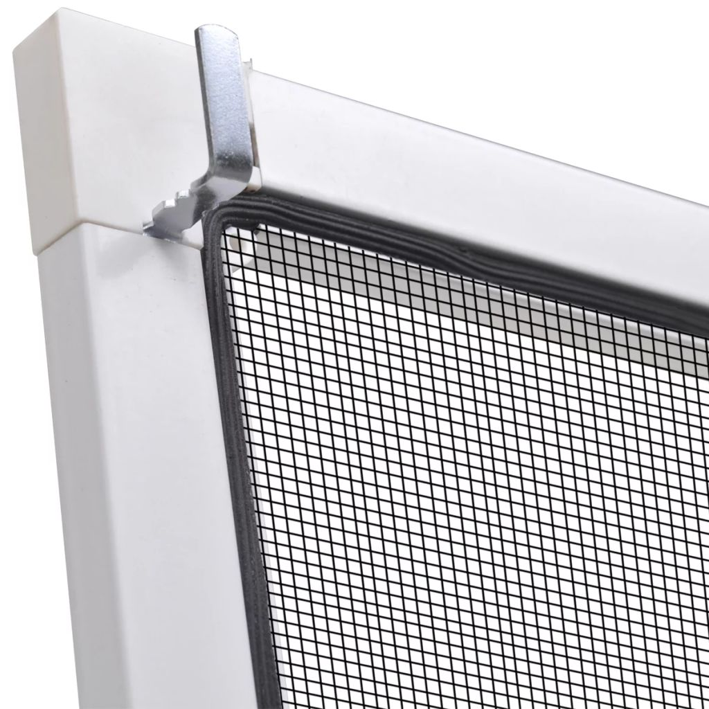 White Insect Screen for Windows 120 x 140 cm 6