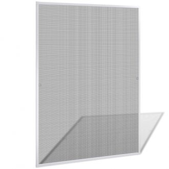 Insect Screen for Windows 130 x 150 cm White 1