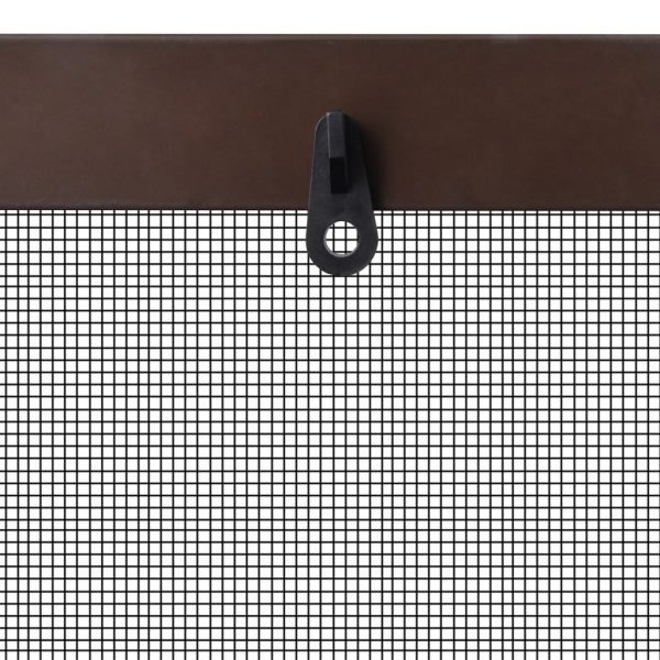 Insect Screen for Windows 80 x 100 cm Brown 5