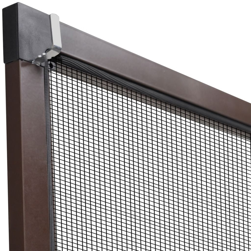 Insect Screen for Windows 80 x 100 cm Brown 6