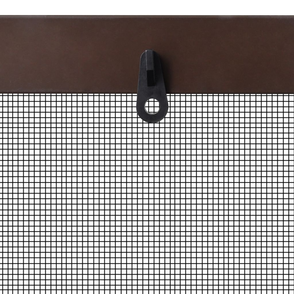 Brown Insect Screen for Windows 100 x 120 cm 5