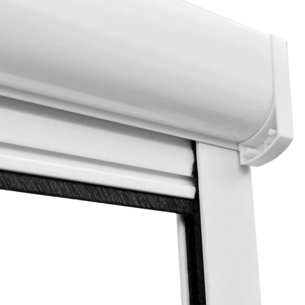 White Roll Down Insect Screen for Windows 80 x 170 cm 6