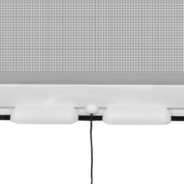 White Roll Down Insect Screen for Windows 140 x 170 cm 4