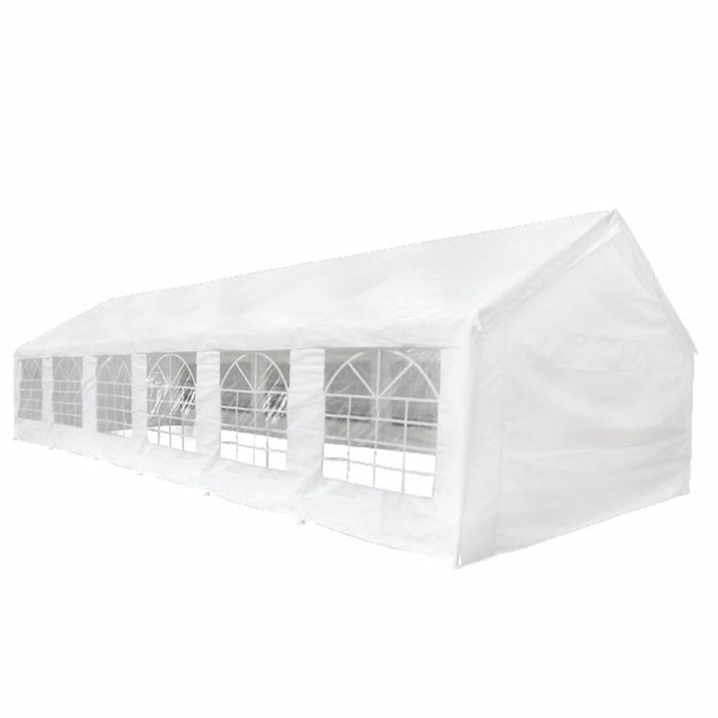 Party Tent with Top and Side Panels 12 x 6 m