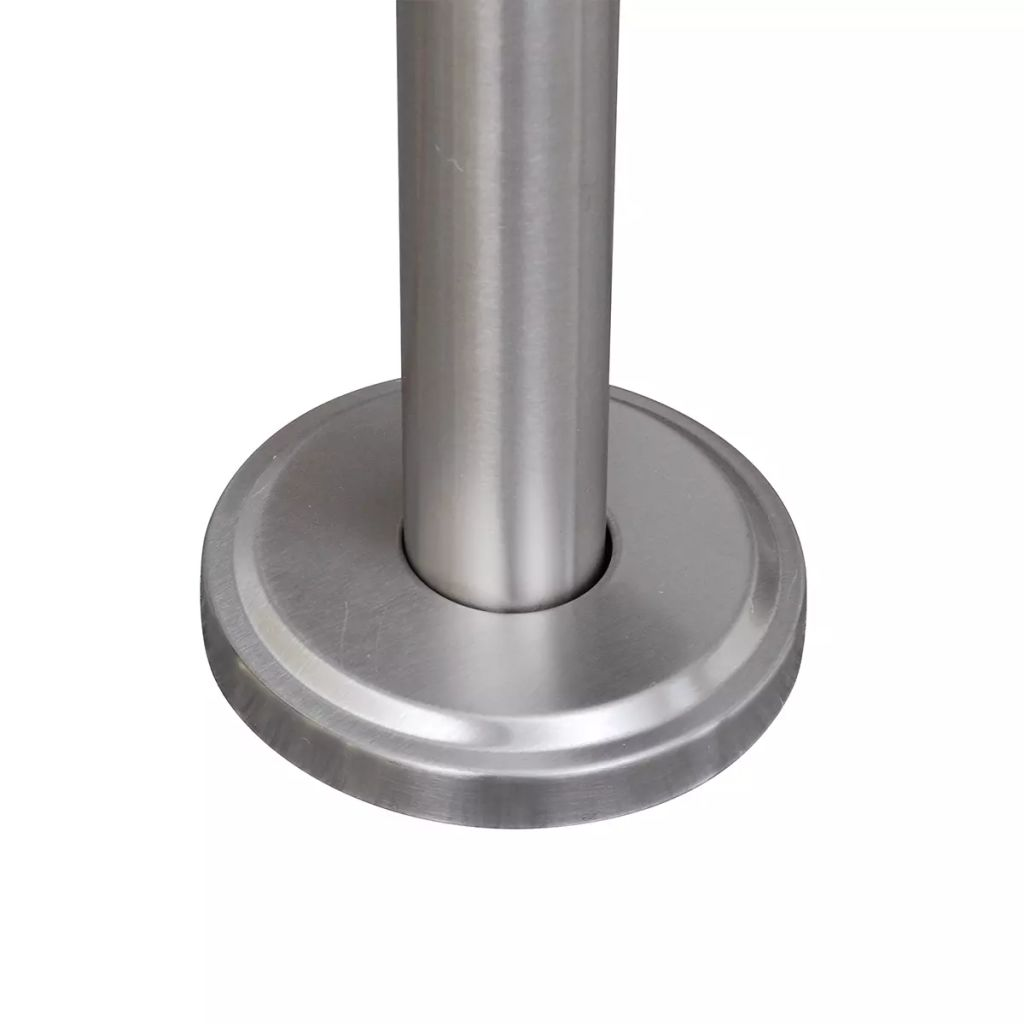 Double Mailbox on Stand Stainless Steel 5