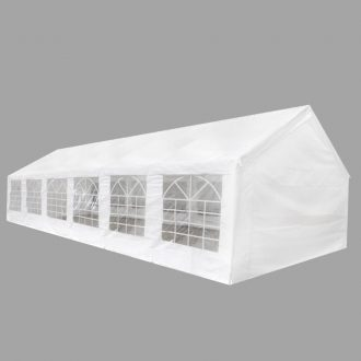 White Party Tent 12×6 m 1