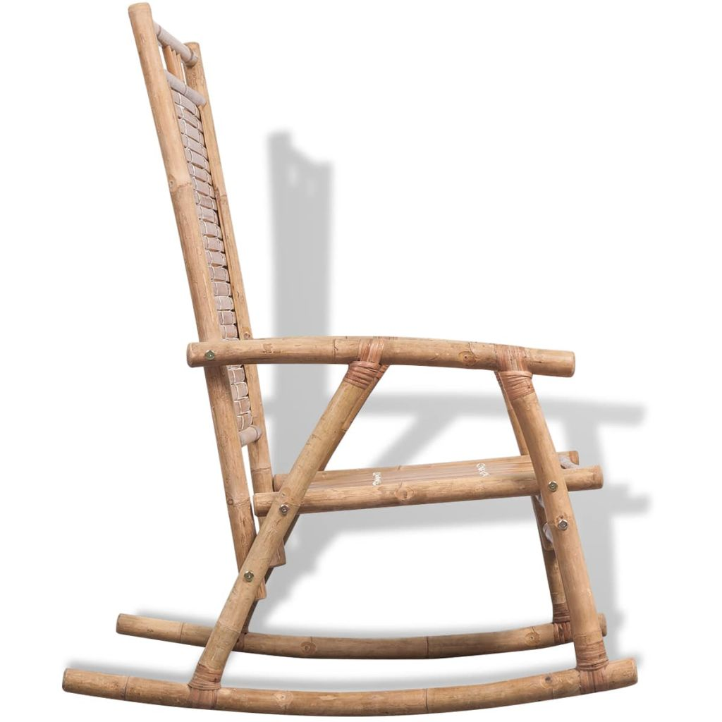 Rocking Chair Bamboo 4