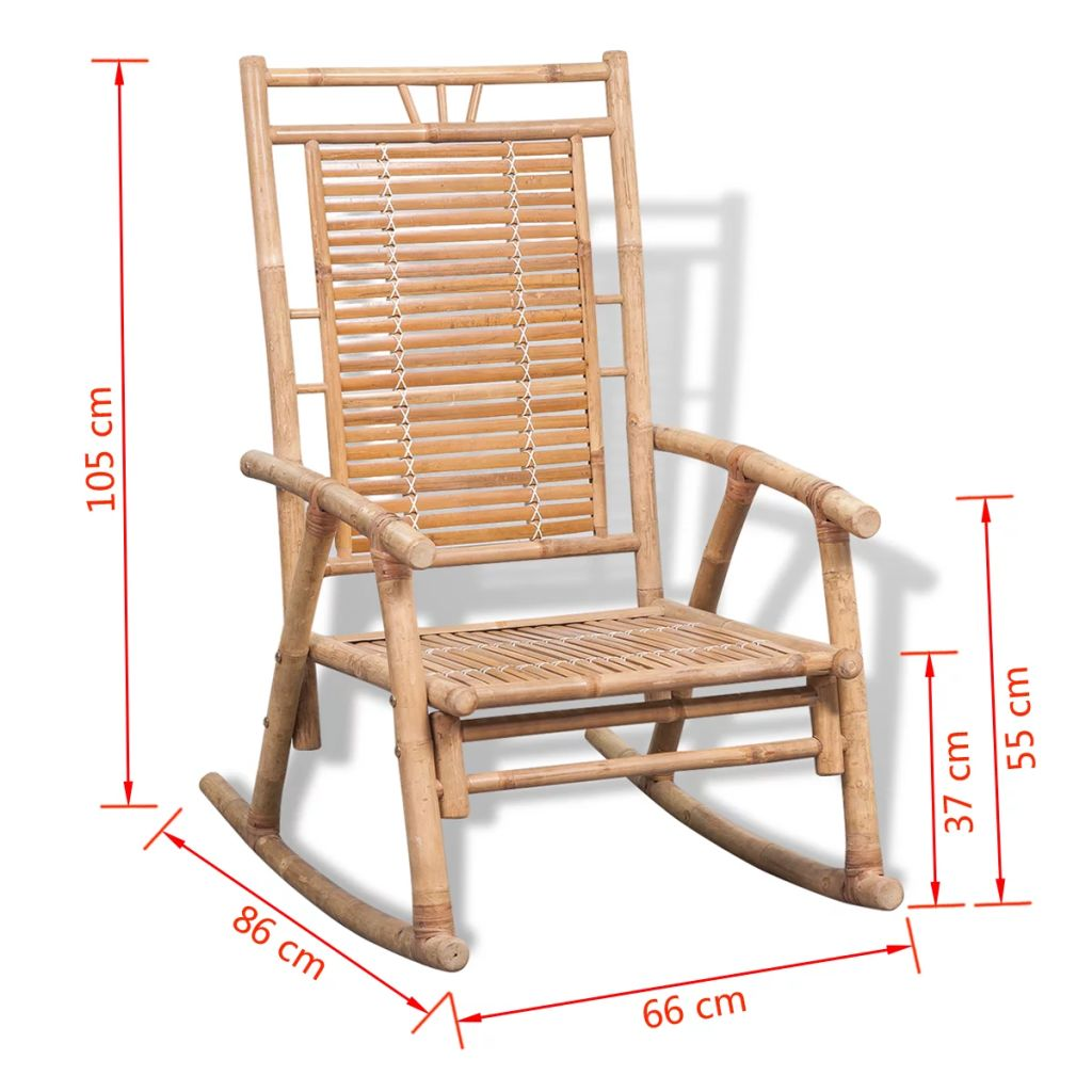 Rocking Chair Bamboo 10