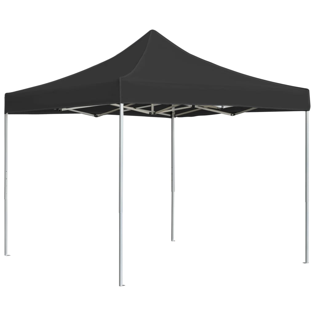 Professional Folding Party Tent Aluminium 3×3 m Anthracite 1