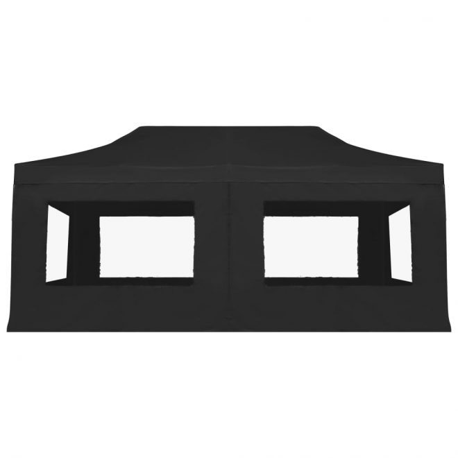 Professional Folding Party Tent with Walls Aluminium 6×3 m Anthracite 6