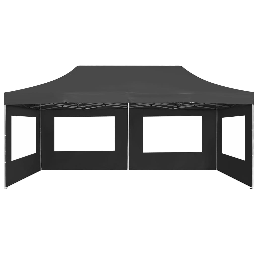 Professional Folding Party Tent with Walls Aluminium 6×3 m Anthracite 7