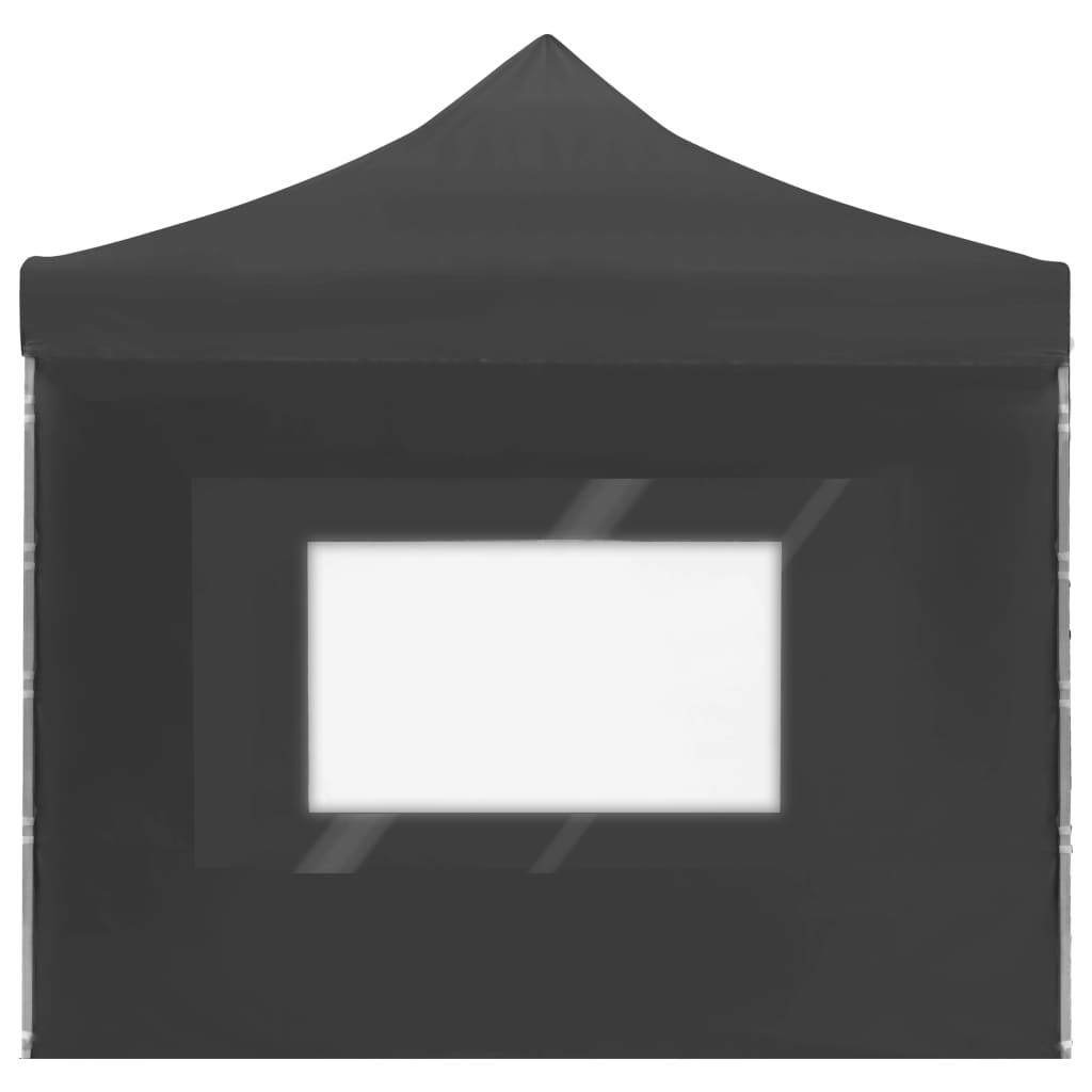Professional Folding Party Tent with Walls Aluminium 6×3 m Anthracite 8