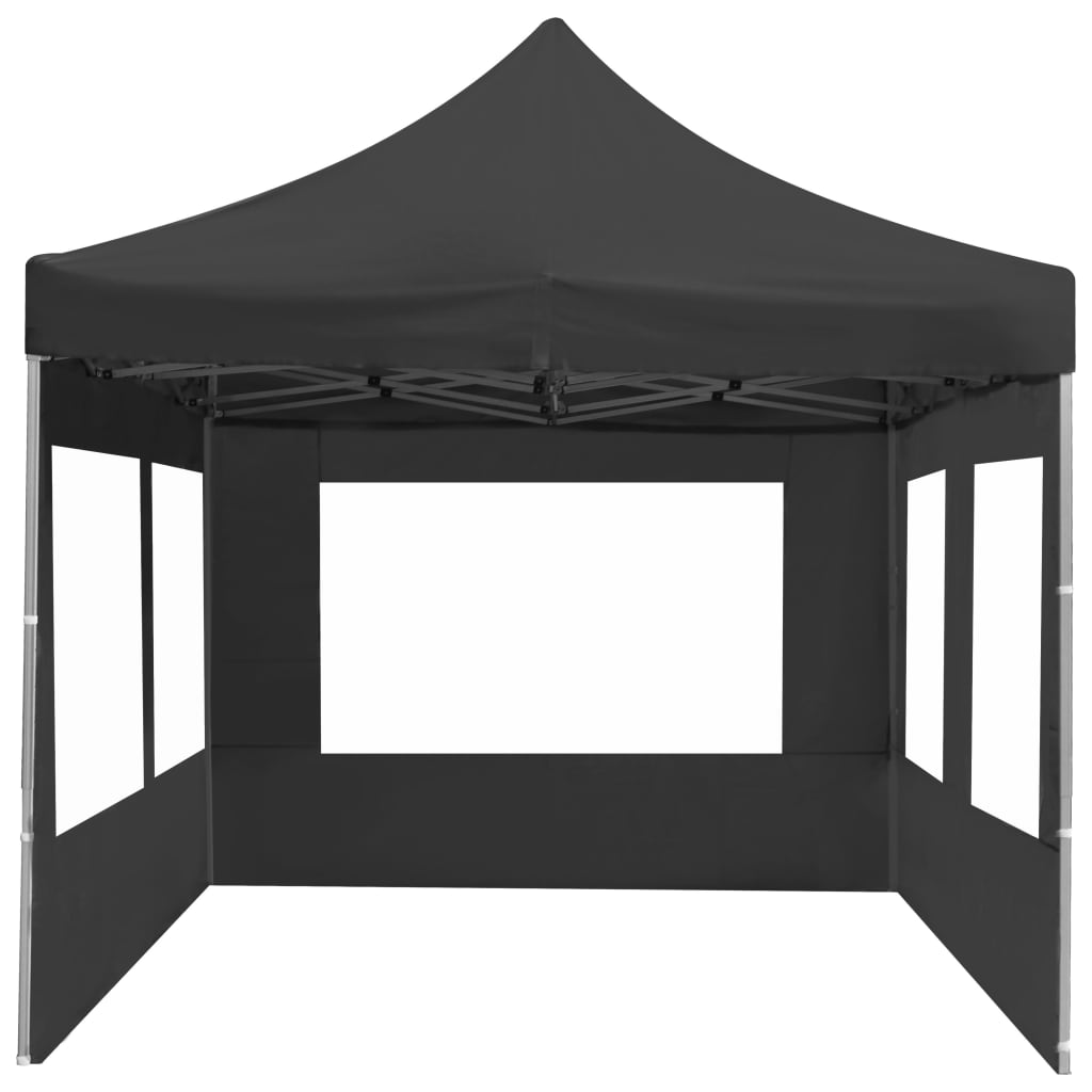 Professional Folding Party Tent with Walls Aluminium 6×3 m Anthracite 9