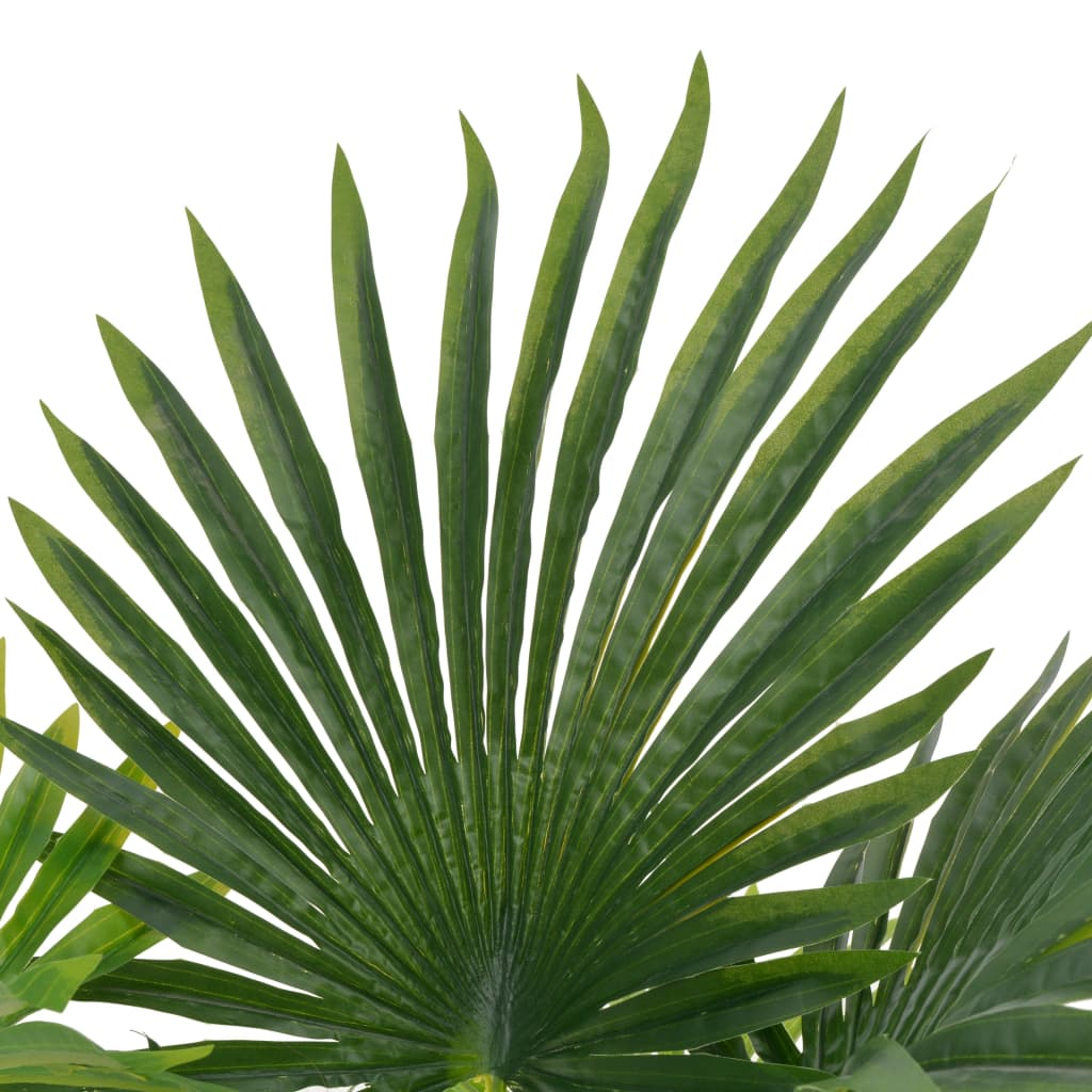 Artificial Plant Palm with Pot Green 70 cm 2