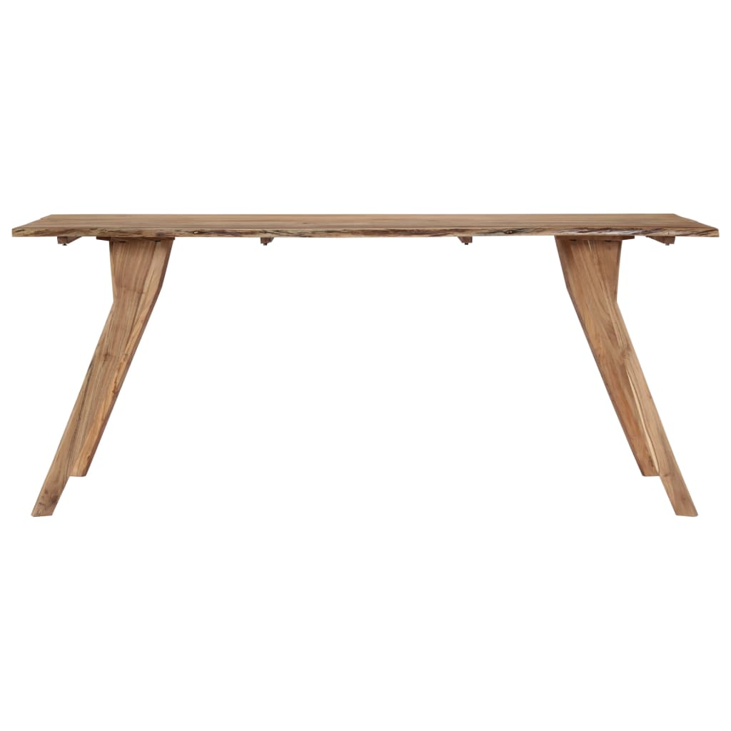 Dining Table 180x88x76 cm Solid Acacia Wood 4