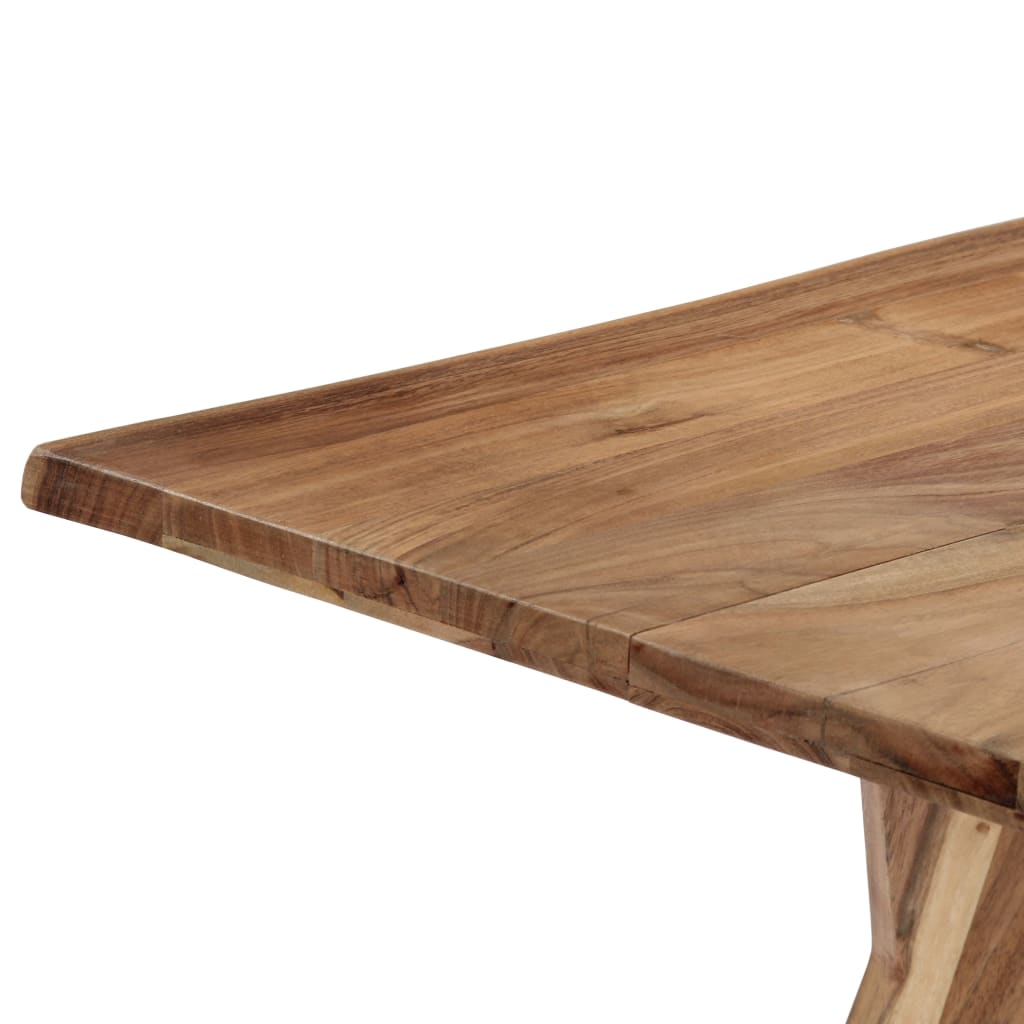 Dining Table 180x88x76 cm Solid Acacia Wood 6