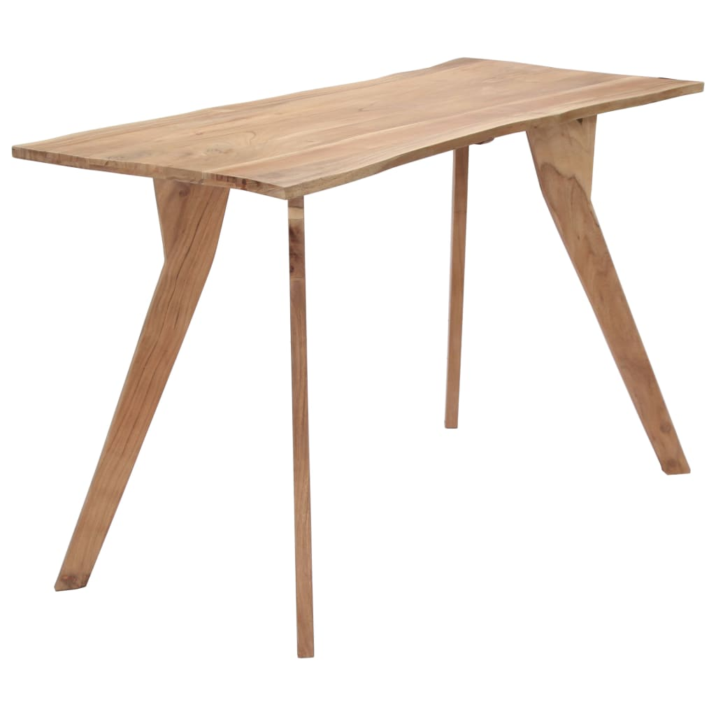 Dining Table 120x58x76 cm Solid Acacia Wood 1