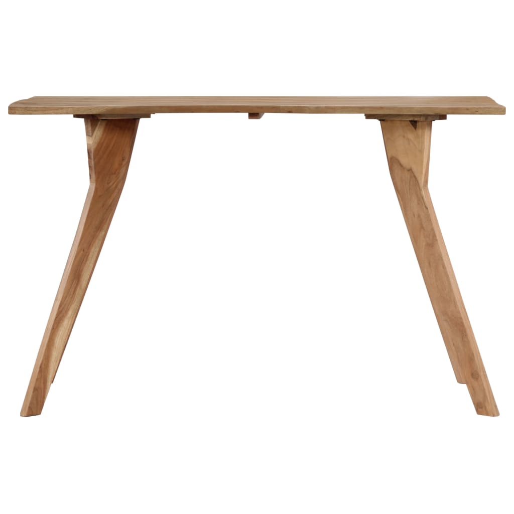 Dining Table 120x58x76 cm Solid Acacia Wood 4