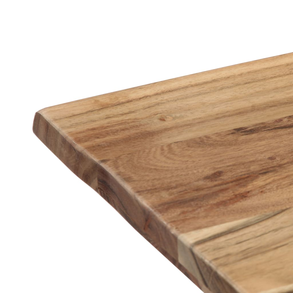 Dining Table 120x58x76 cm Solid Acacia Wood 7