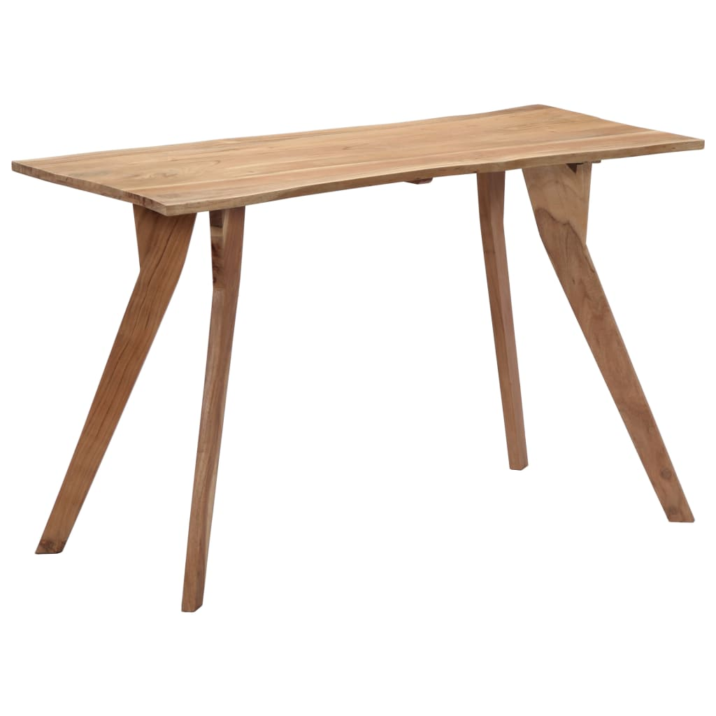 Dining Table 120x58x76 cm Solid Acacia Wood 9