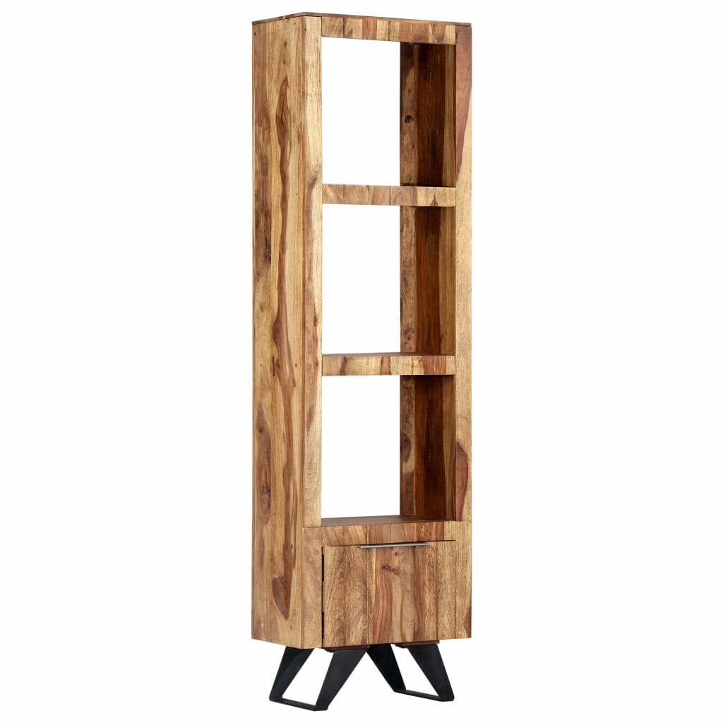 Highboard 45x28x180 cm Solid Sheesham Wood 11