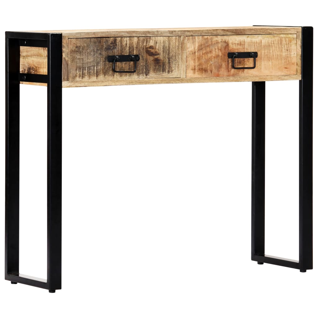 Console Table 90x30x75 cm Solid Mango Wood 1