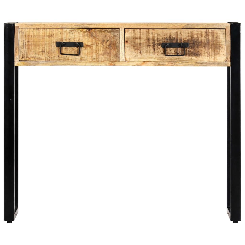 Console Table 90x30x75 cm Solid Mango Wood 2