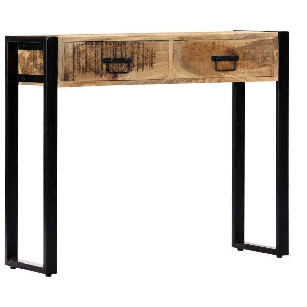 Console Table 90x30x75 cm Solid Mango Wood 11