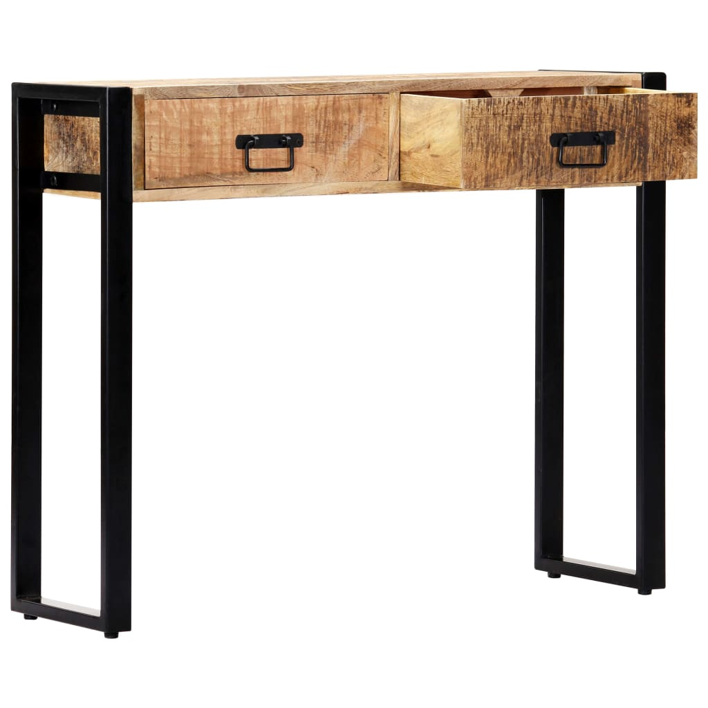 Console Table 90x30x75 cm Solid Mango Wood 4