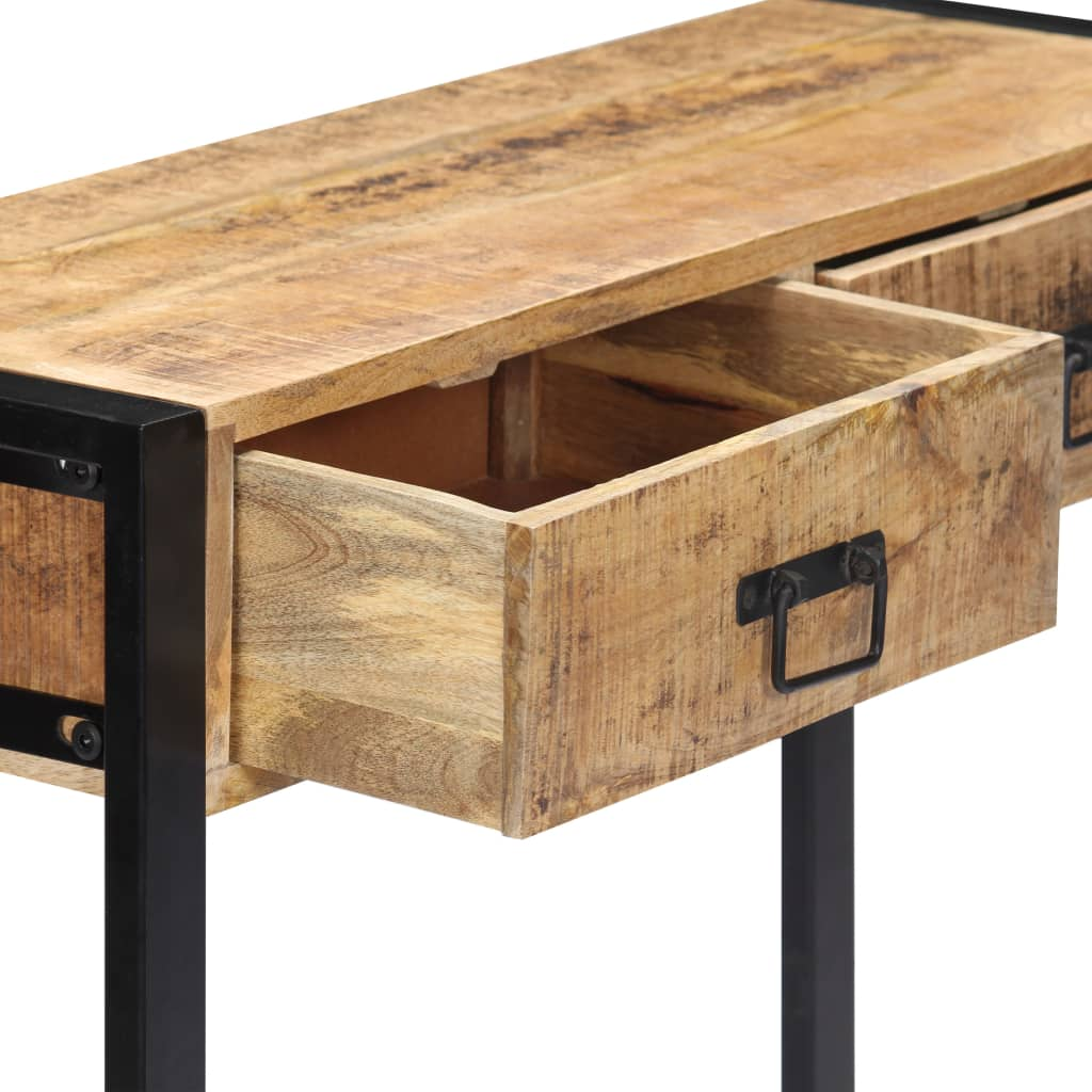 Console Table 90x30x75 cm Solid Mango Wood 5